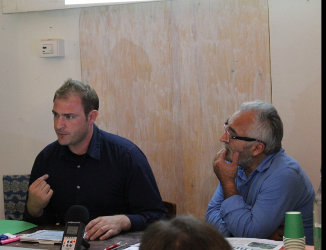 Giampaolo Antolini at the summit, API, 11th October 2014