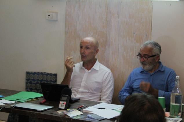 Emidio Troiani at the summit, API, 11th October 2014