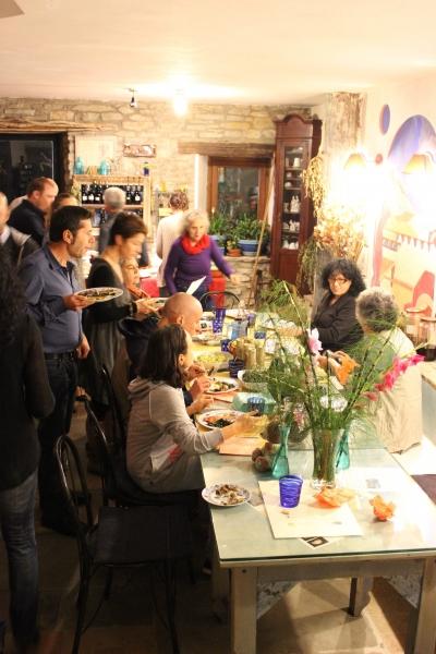 dinner at the summit, API, 11th October 2014