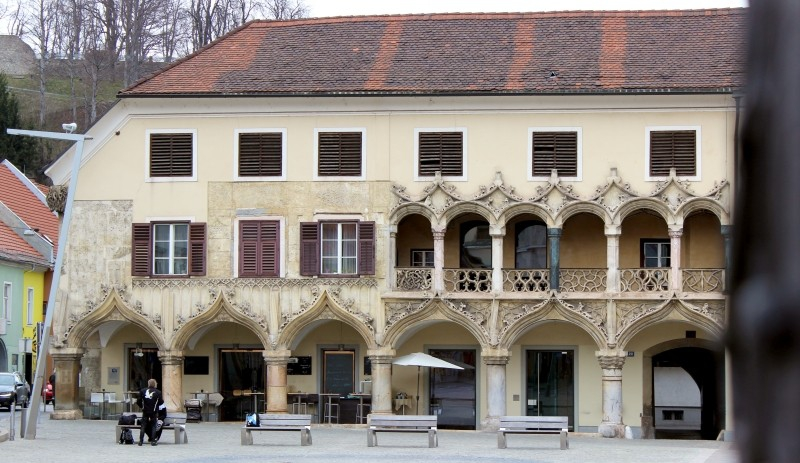 Kornmesser House at Bruck an der Mur, Styria/Austria