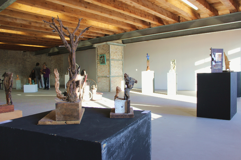 Sculptors of Luberti, 4th Ancona Art Salon, 01.07.14
