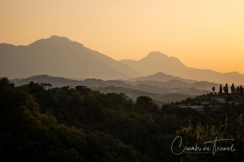 Sunset, Photos from Abruzzo region in Italy