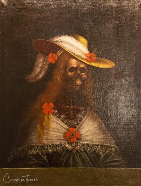 The Maiden of Strechau, anonymous artist 1720, Admont Abbey in Upper Styria/Austria