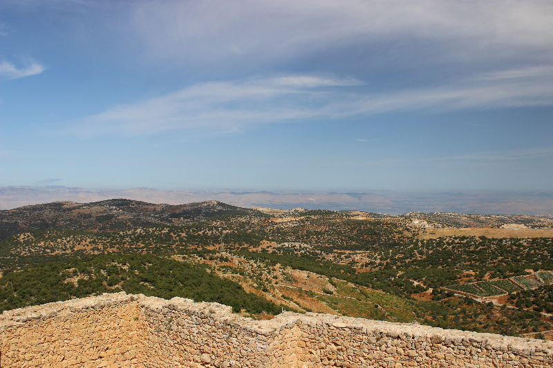 View from Ajloun, Jordan