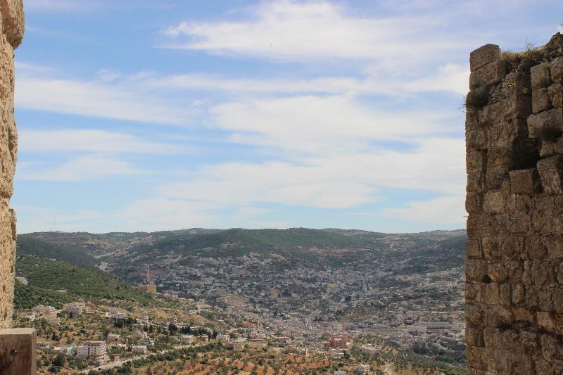 View from Ajloun, Jordan