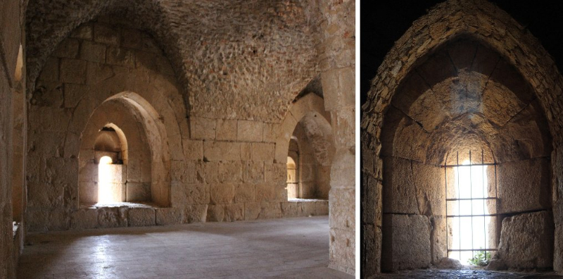 Inside Ajloun, Jordan
