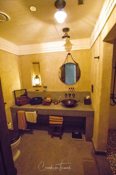 Bathroom at Al Seef Heritage Hotel in Dubai