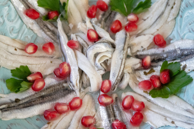 Alici Marinate - Anchovies in Oil