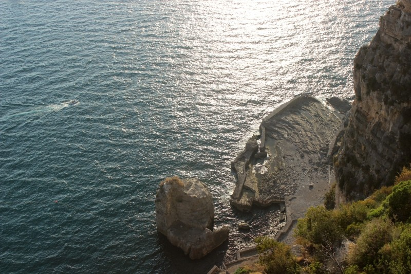 Detail of the Amalfi Coast, Campagna/Italy