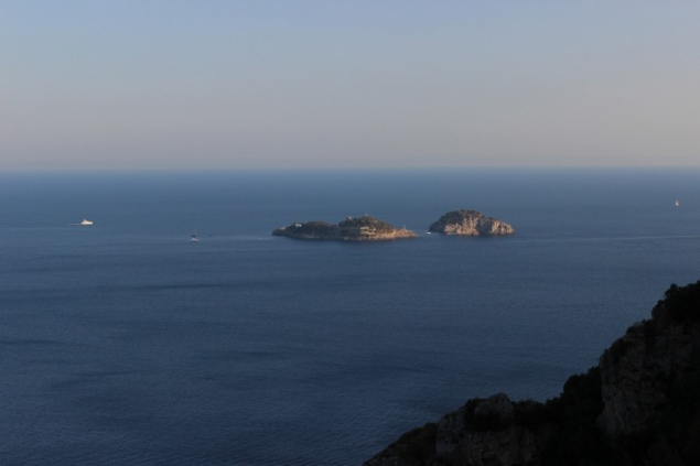 View of the islands from the Amalfi Coast, Campagna/Italy