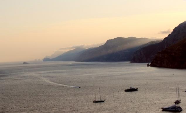 Sunset at the Amalfi Coast, Campagna/Italy