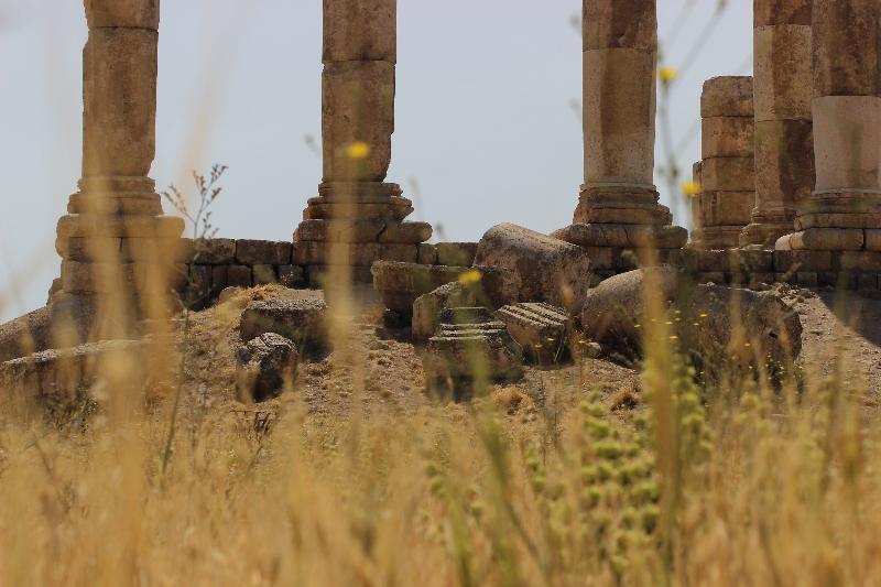 Citadel, Amman, Jordan, Middle East