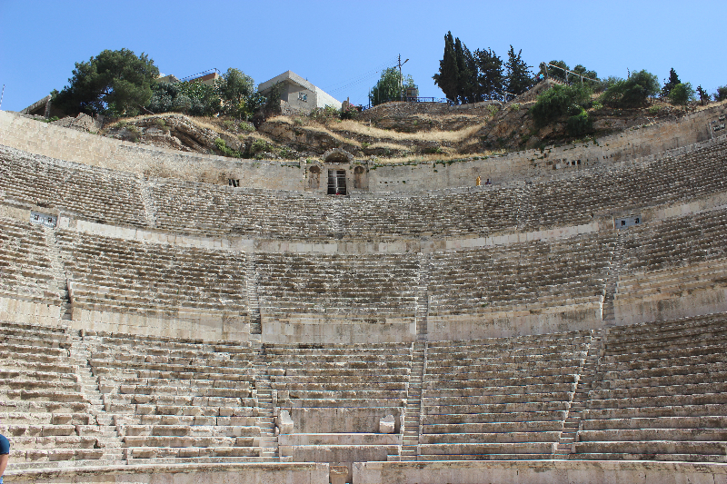 Roman theater, Amman, Jordan, Middle East