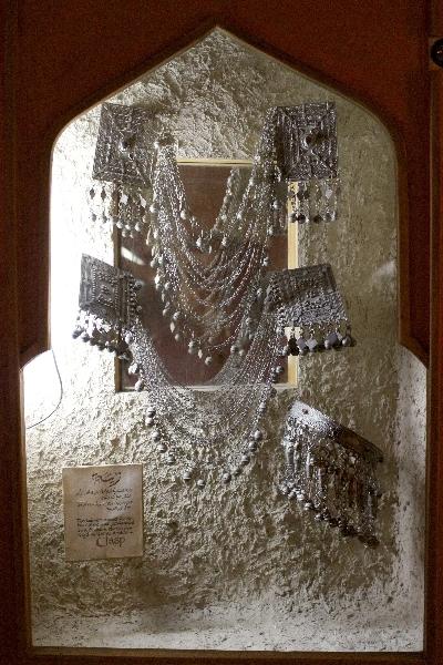 Jeweleryin the museum of the Roman theater, Amman, Jordan, Middle East