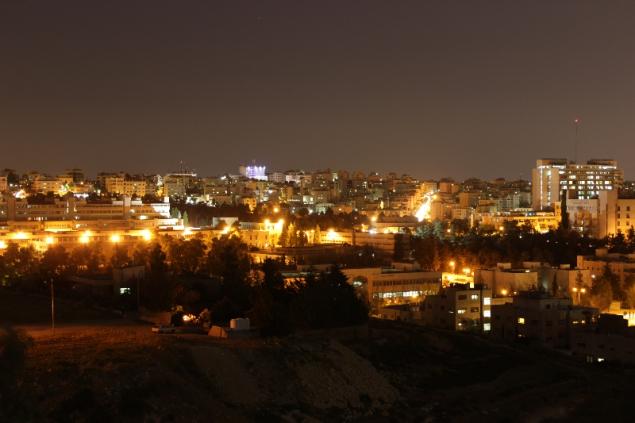 Amman by night, Jordan