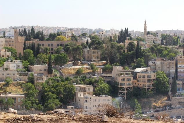 City view of Amman, Jordan