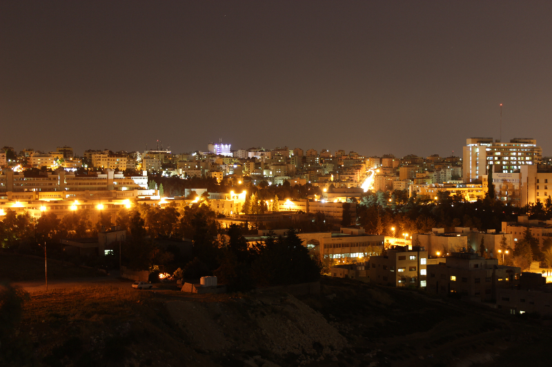 Amman by night, Jordan