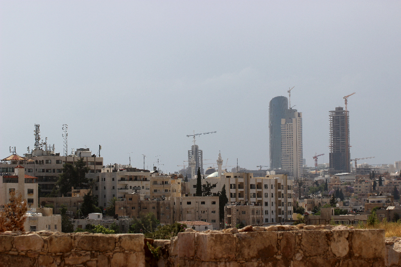 City view of Amman, Jordan