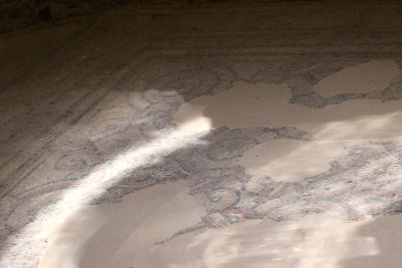 Mosaic floor, Qasr Amra, Jordan
