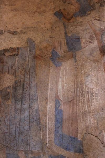 Painting,Qasr Amra, Jordan