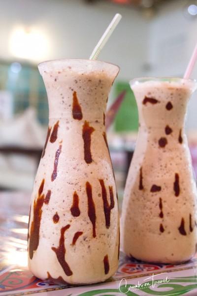 Camel Milk Shake with Dates
