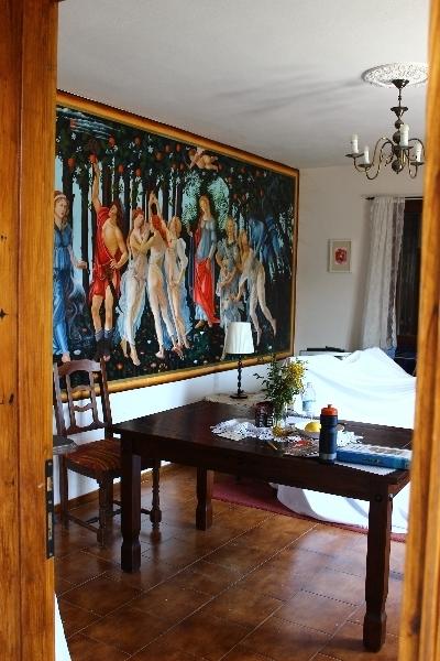 Inside Casa Appeninno, Villa Minozzo, Italy