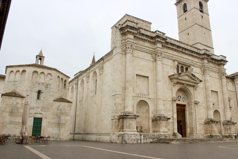 Cathedral of Saint'Emidio, Ascoli Piceno, Le Marche/Italy