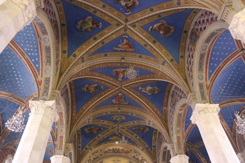 Inside the cathedral of Saint'Emidio, Ascoli Piceno, Le Marche/Italy