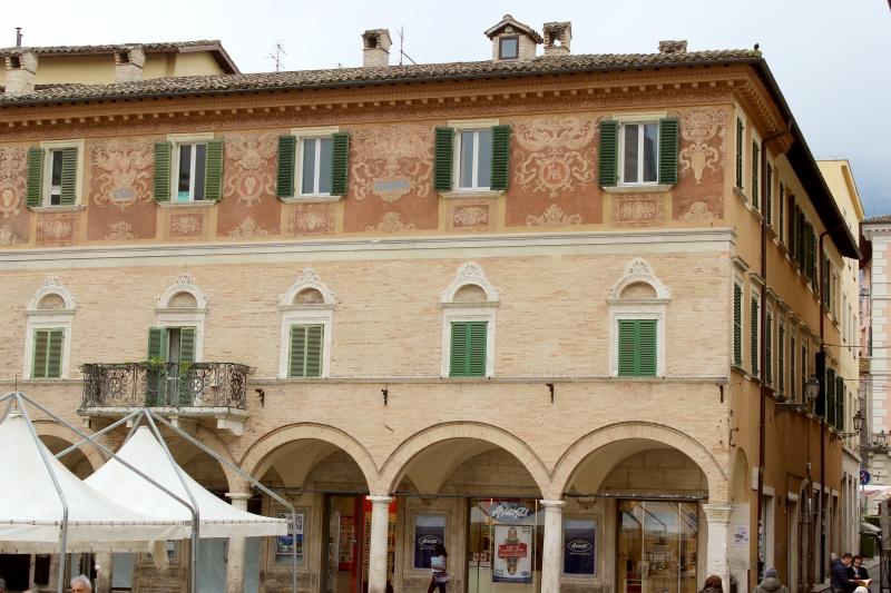 Palazzo dell'Arengo at Ascoli Piceno, Le Marche/Italy
