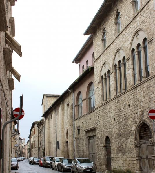 Streets of Ascoli Piceno, Le Marche/Italy