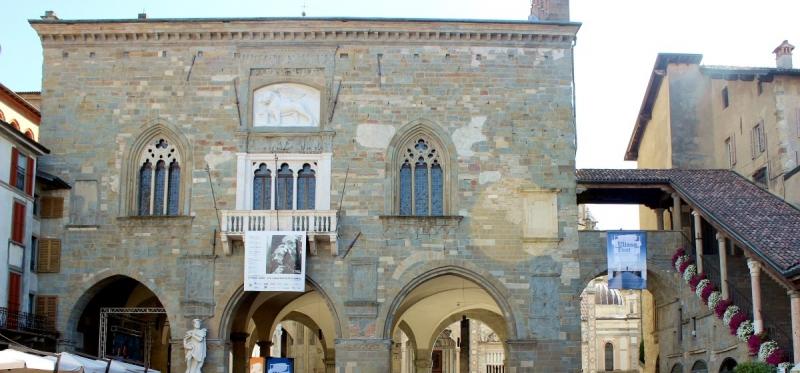 Palazzo della Ragione, Bergamo, Lombardy/Italy