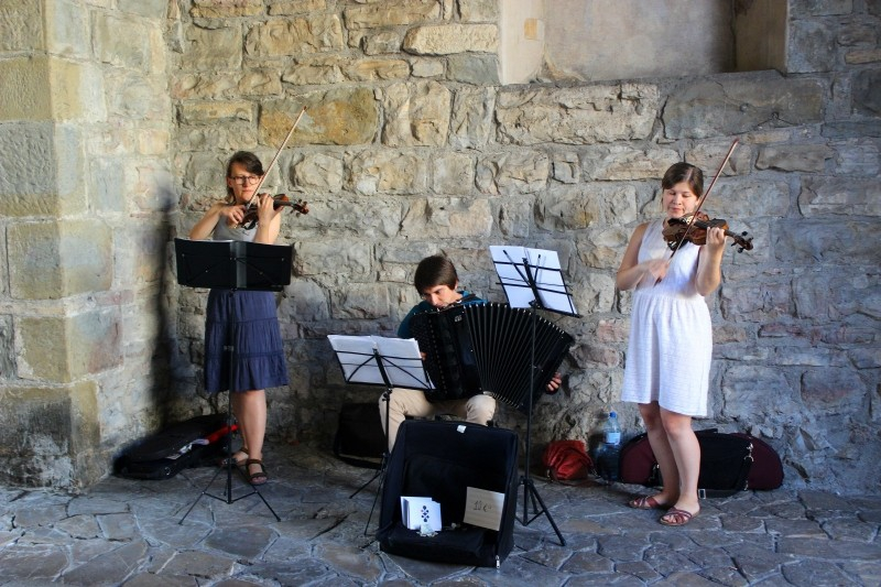 Musicians in Bergamo, Lombardy/Italy