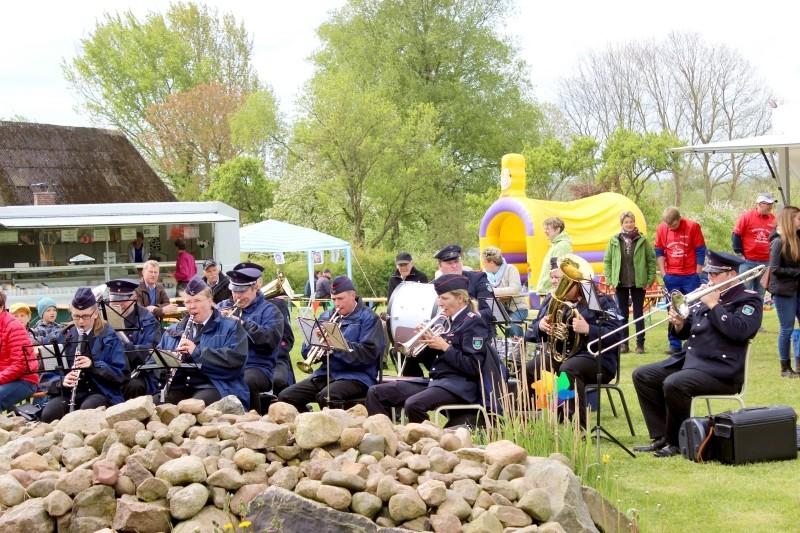 Band in Bergenhusen, Schleswig-Holstein, Germany