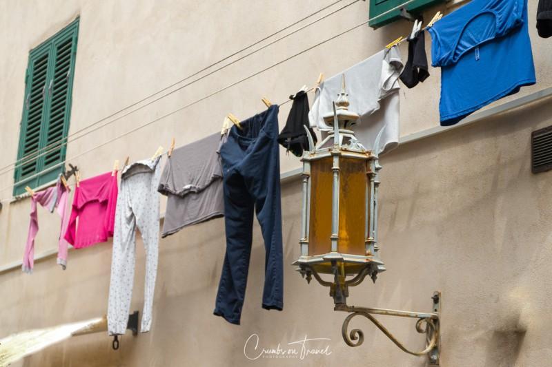 Impressions of Bolgheri in Tuscany/Italy - laundy
