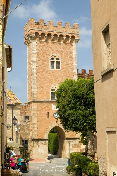 Impressions of Bolgheri in Tuscany/Italy