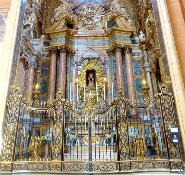 Chapel inside the Basilica of San Petronio of Bologna, Emilia-Romagna/Italy