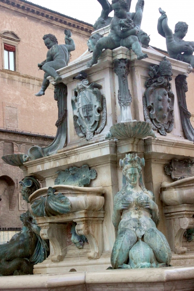 Neptun well in Bologna, Italy