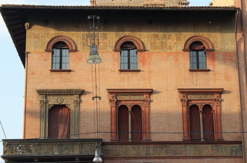 Facade in Bologna, Italy