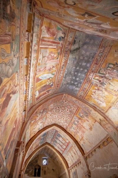 The oratory of Saint Pellegrino in Bominaco