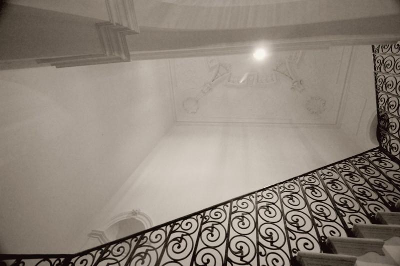Staircase in Castle Bothmer, Mecklenburg-Vorpommern/Germany