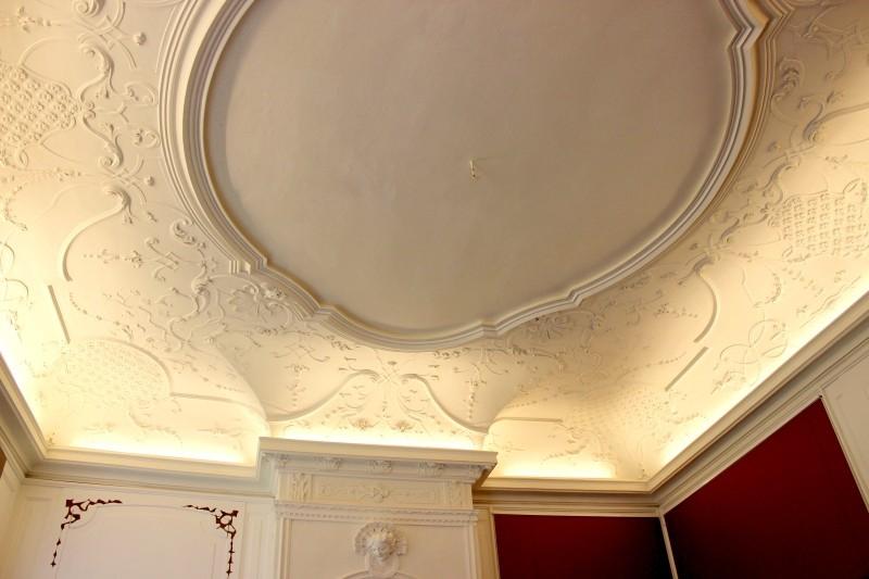 Ceiling in Castle Bothmer, Mecklenburg-Vorpommern/Germany