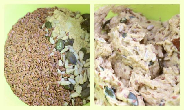 flaxseed cracker - ingredients