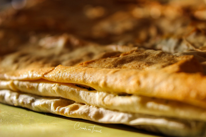 Börek with spinach and Feta cheese