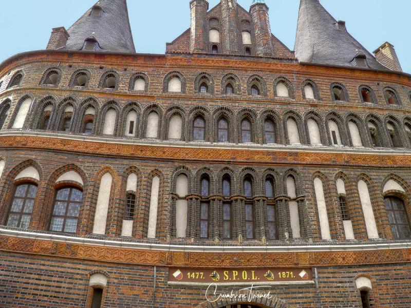 Brick Architecture in Northern Germany- Lübeck, Holstentor