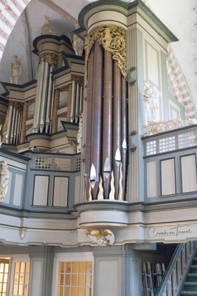 Organ, St. Nicholas Church, Fehmarn