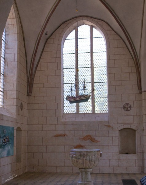 Stone baptismal, St. Nicholas Church, Fehmarn