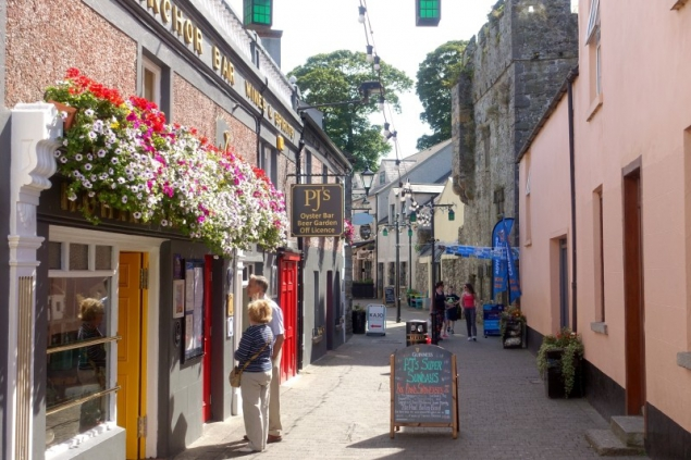 Street view in Carlingford, County Louth/Ireland
