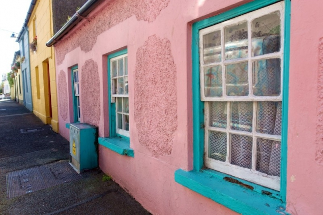 Houses in Carlingford, County Louth/Ireland