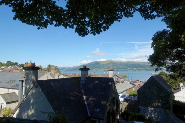 The roofs of Carlingford, County Louth/Ireland