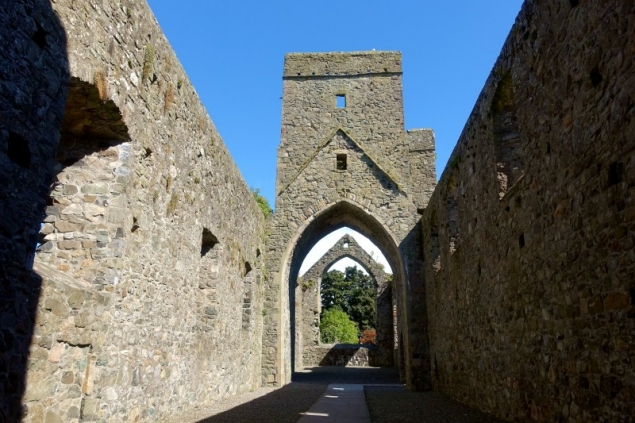 Ancient church in Carlingford, County Louth/Ireland